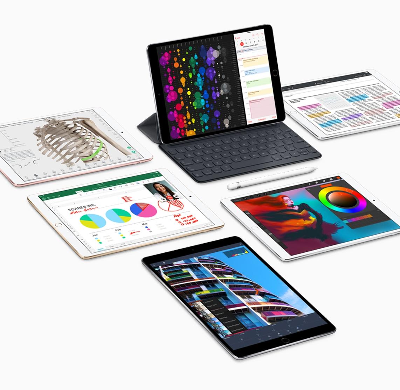 iPads Pro com acessórios