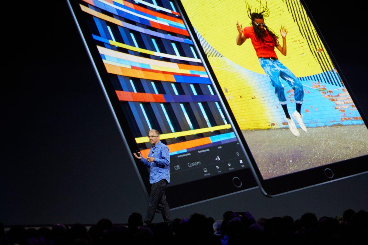 "Greg ""Joz"" Joswiak falando do iPad Pro"