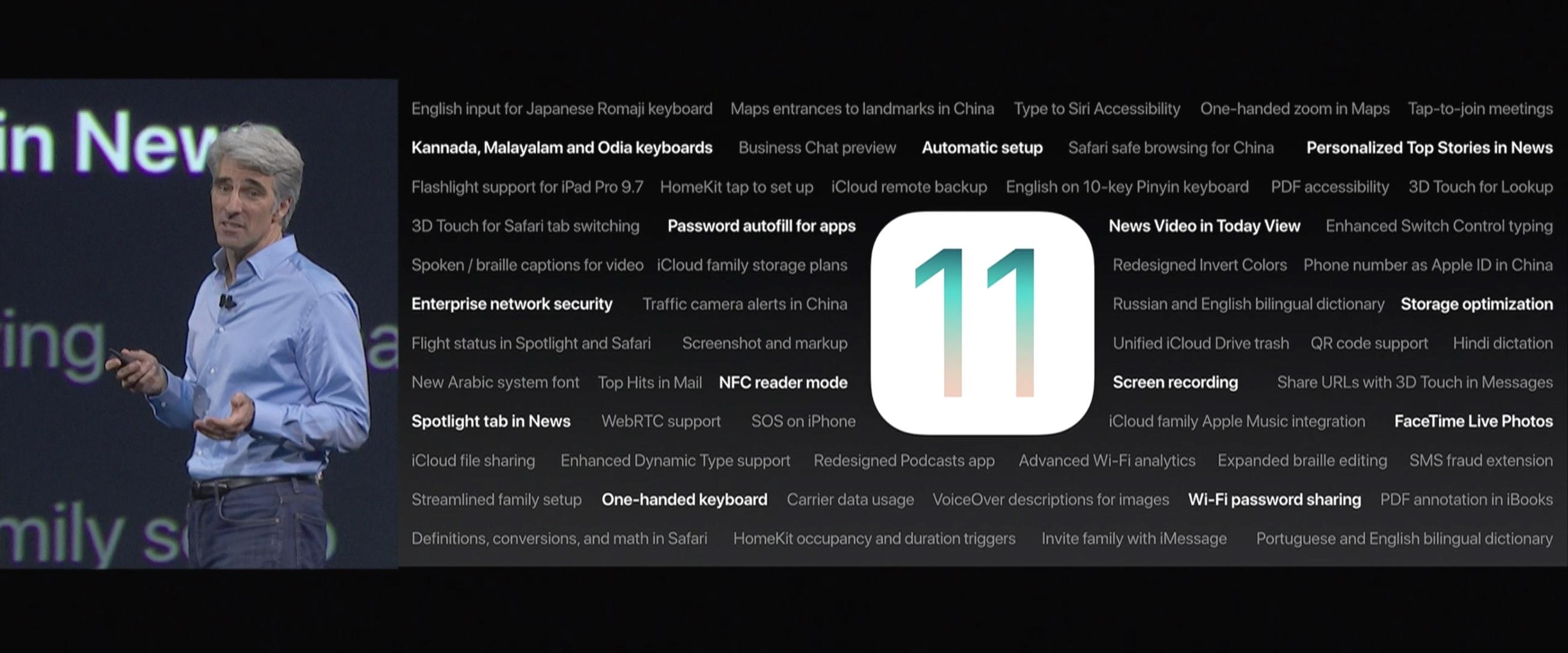 Novidades do iOS 11