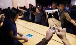 iPad Pro com realidade aumentada