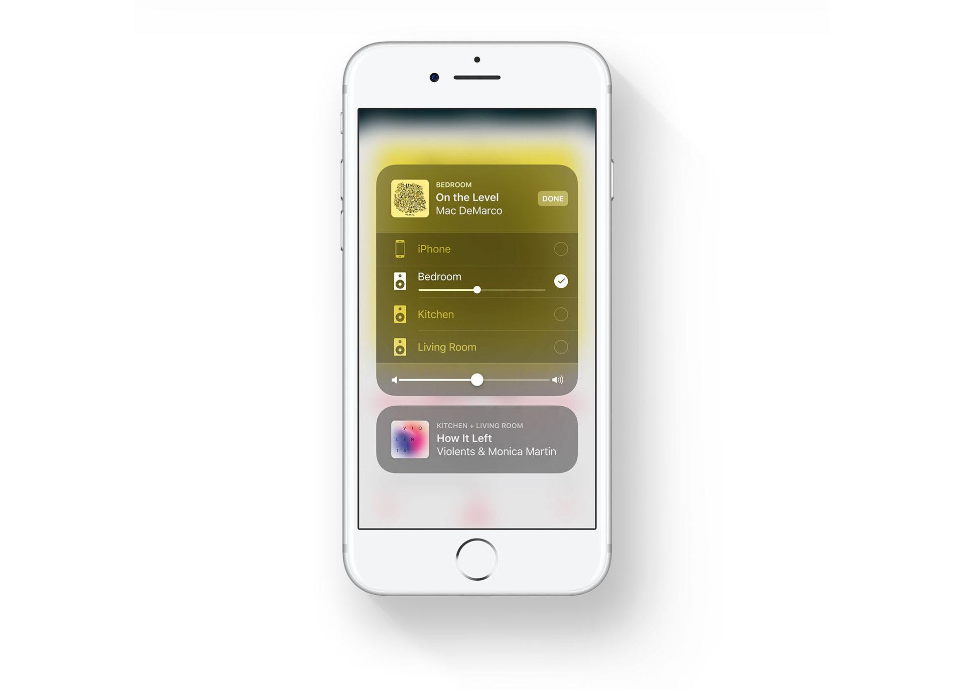 AirPlay 2 em ação no iOS 11