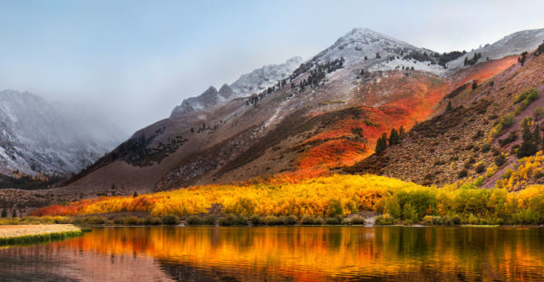Wallpaper oficial do macOS High Sierra 10.13