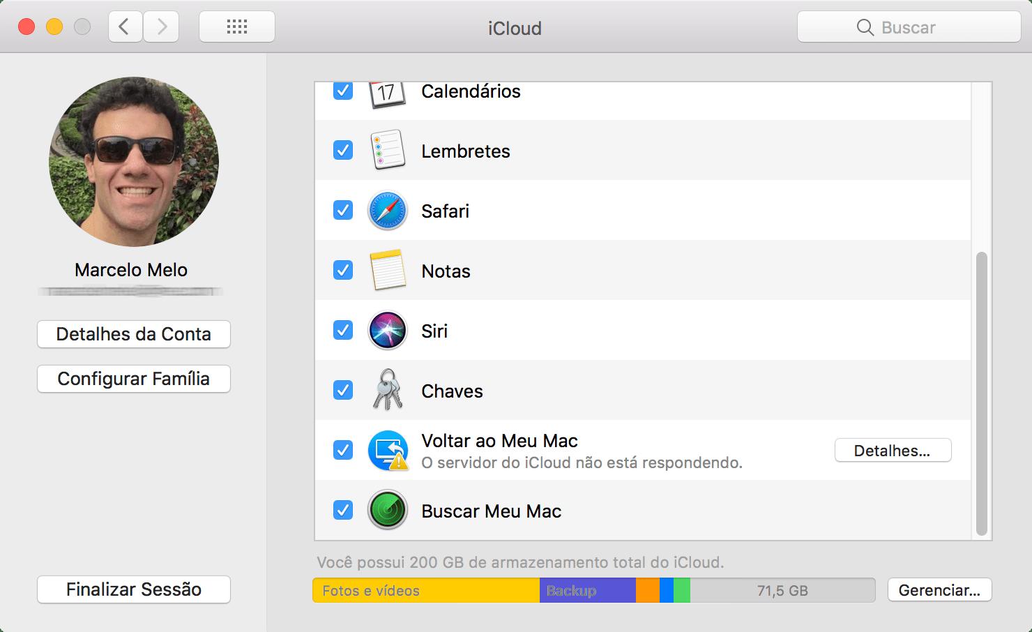 Screenshot do macOS High Sierra 10.13 beta