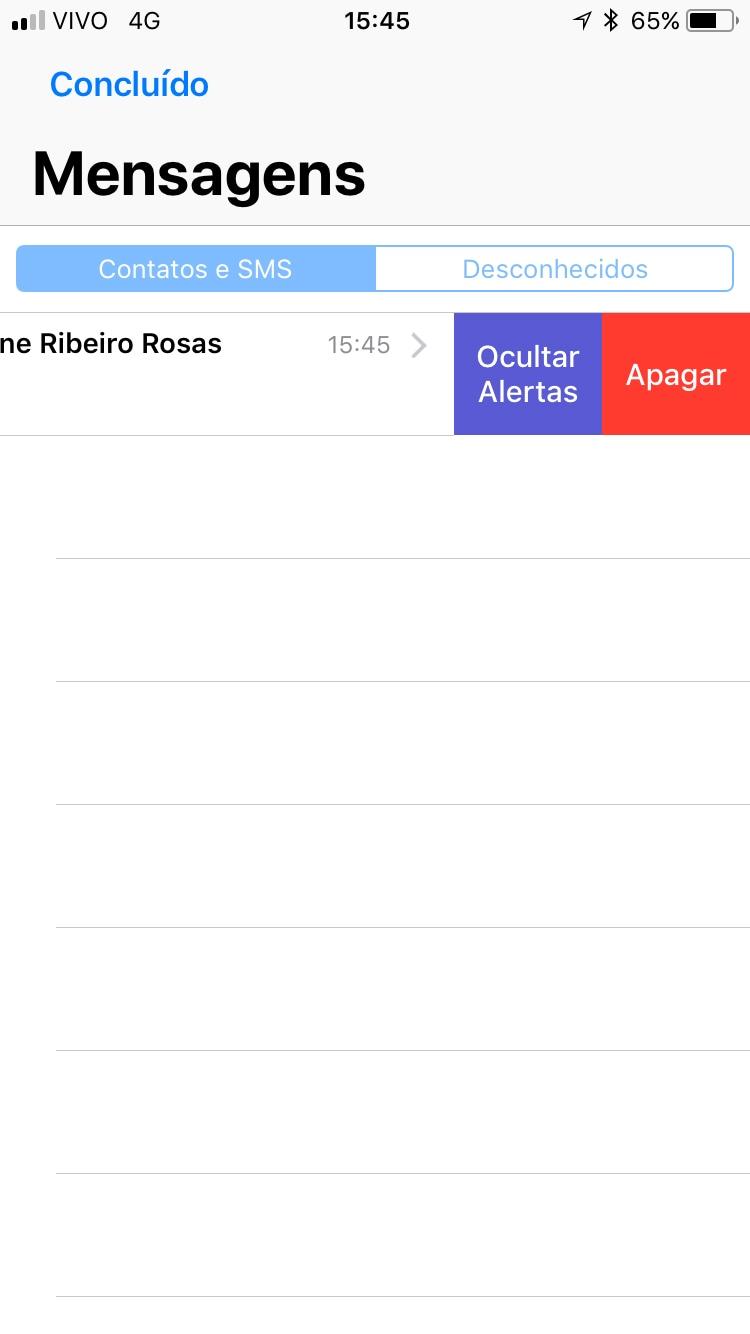 Screenshots do iOS 11 beta