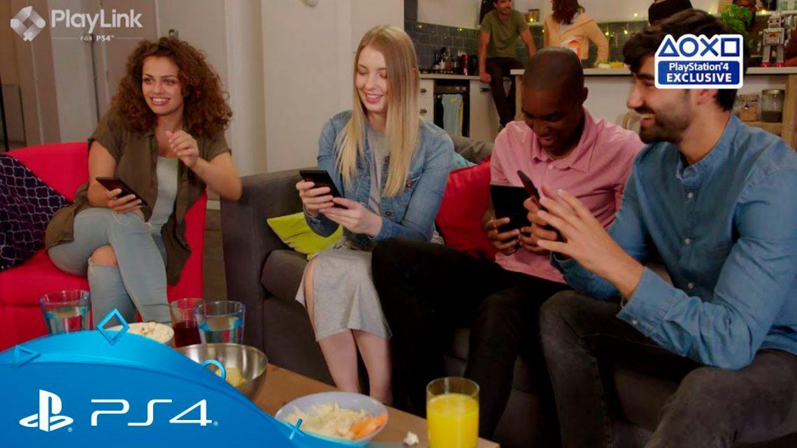 Novo recurso PlayLink para PlayStation 4