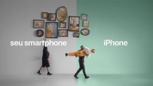 Mude para o iPhone campanha