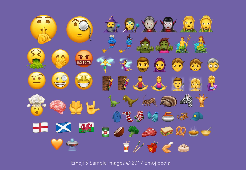 Emoji para 2017