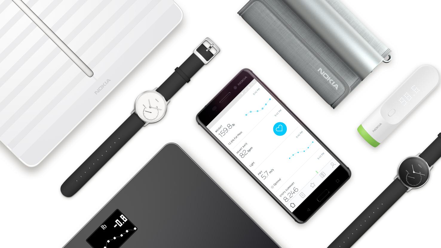 Produtos da Withings rebatizados com a marca Nokia
