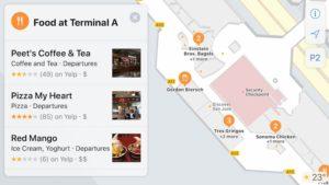 Novo recurso de mapeamento interno de estabelecimentos nos Mapas da Apple