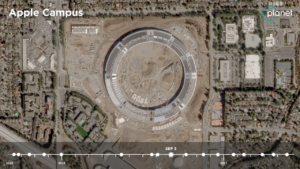 Time-lapse do Apple Park