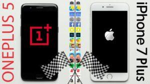OnePlus 5 vs. iPhone 7 Plus