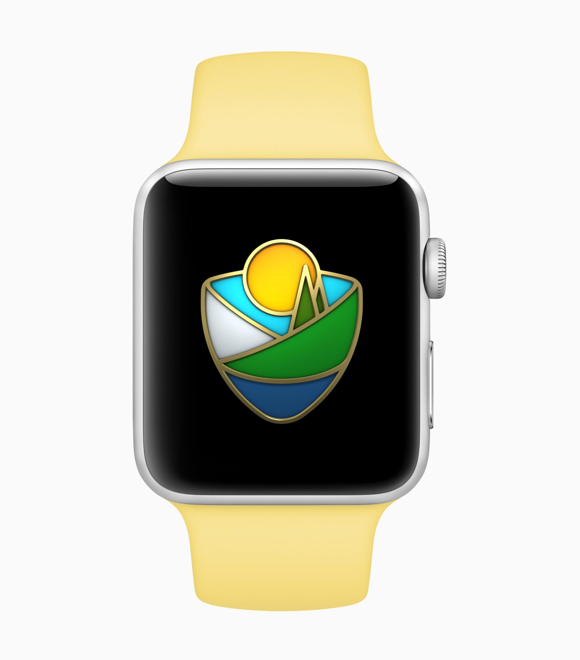 Desafio do Apple Watch de parques nacionais