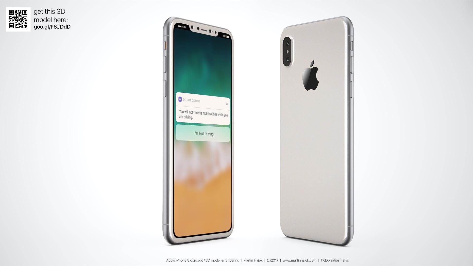 Designer Imagina Como Seria Uma Versão Branca Do U201ciPhone 8u201d, Com Base Em  Rumores Recentes Part 61