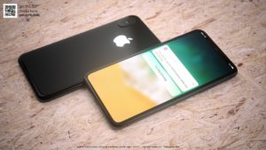 "Mockup/render do ""iPhone 8"" preto"
