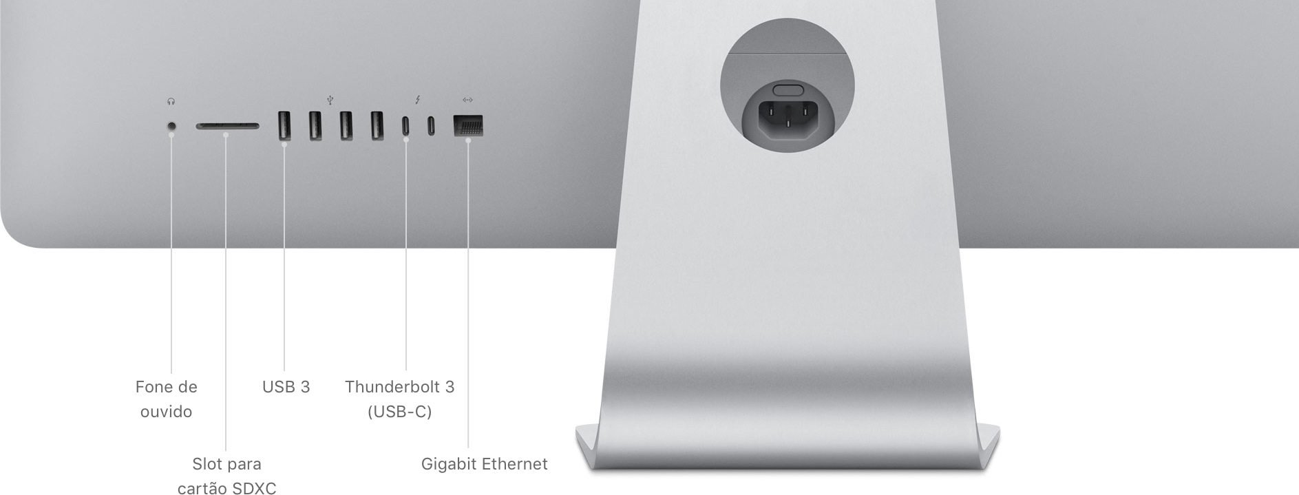 Conectividade do iMac