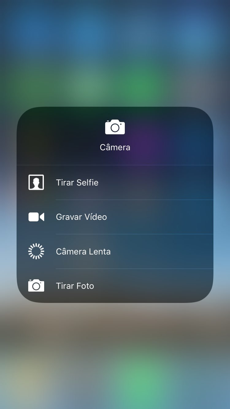 Screenshot do iOS 11 beta