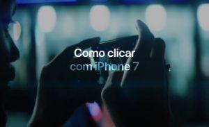 Como clicar com iPhone 7