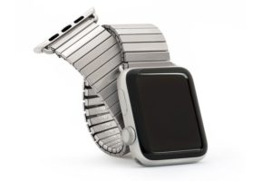 Pulseira Twist-O-Flex, da Speidel, para Apple Watch