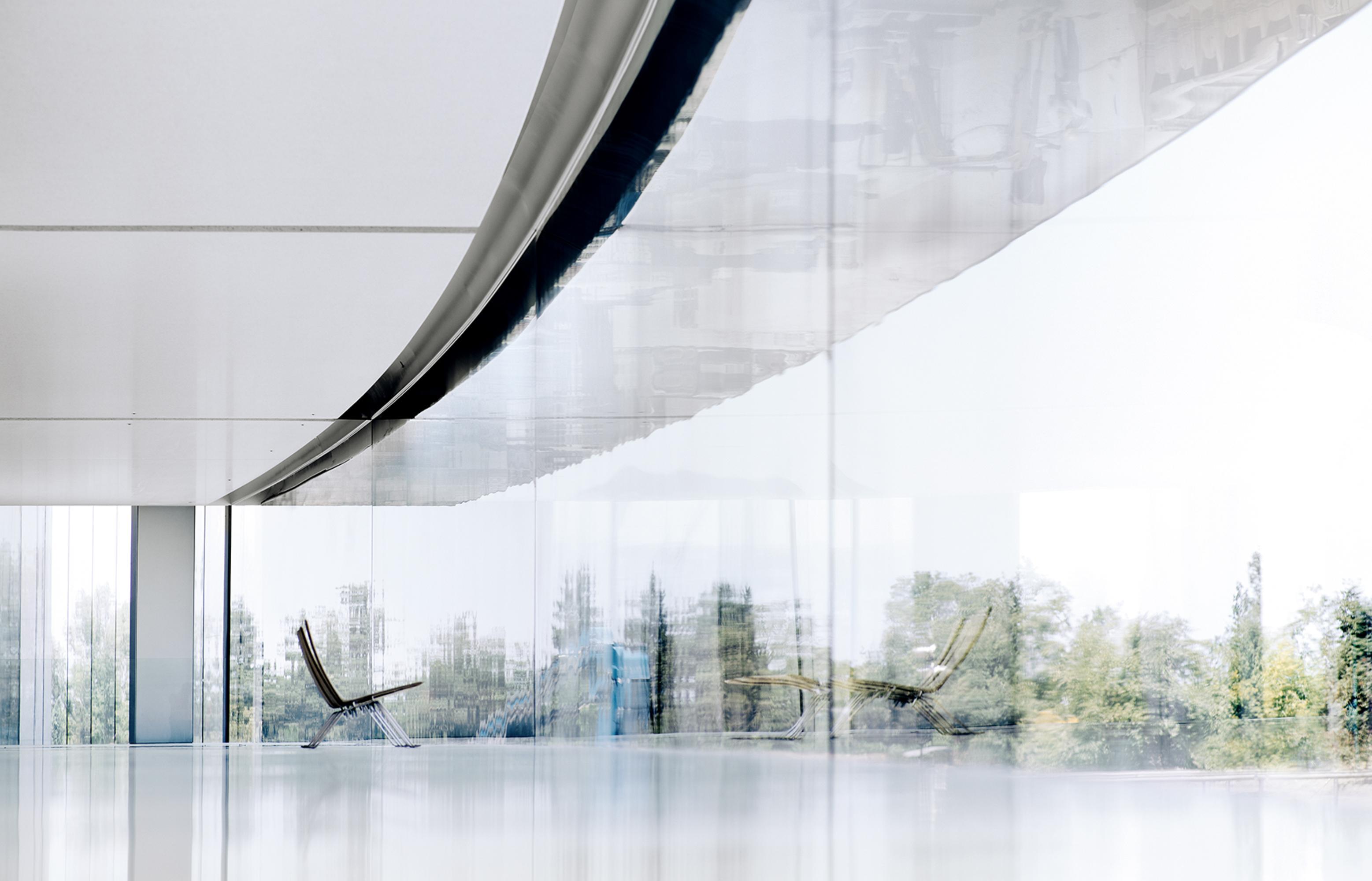 Interior do Apple Park