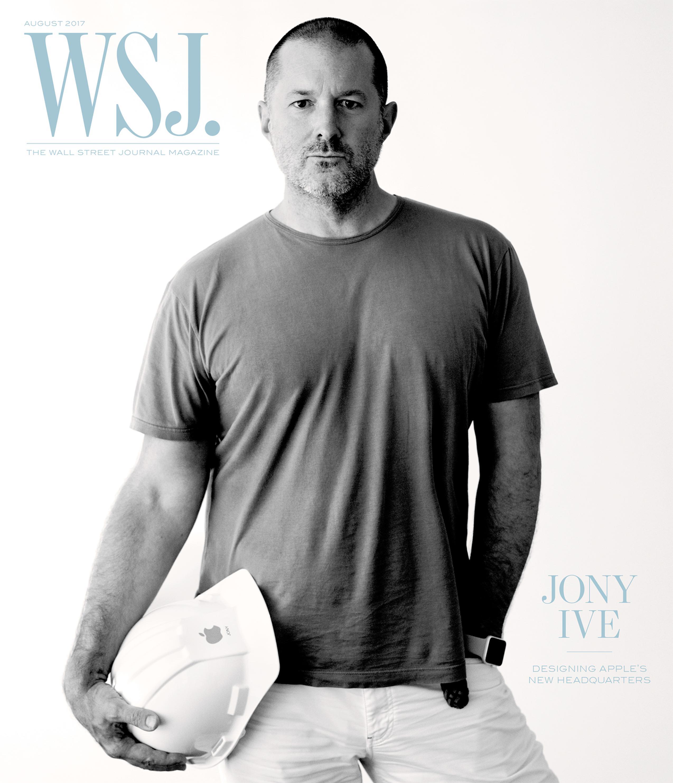 Jony Ive na capa do Wall Street Journal
