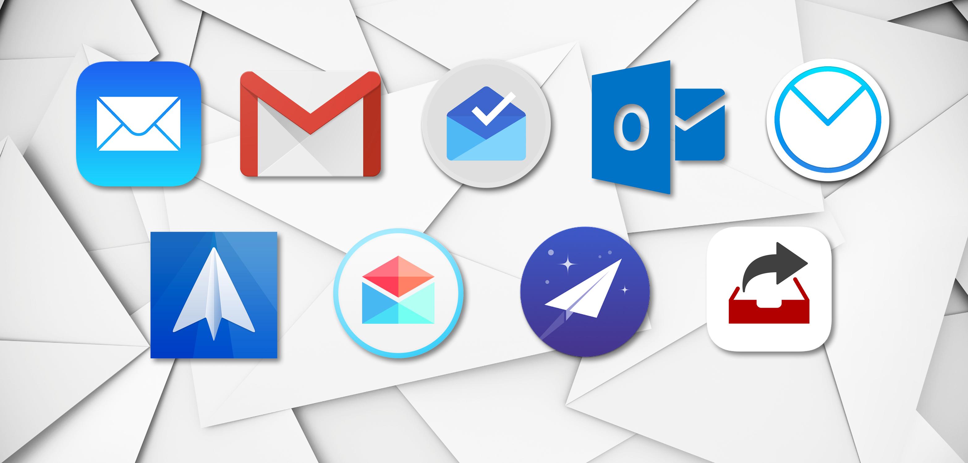 Comparativo entre aplicativos de email