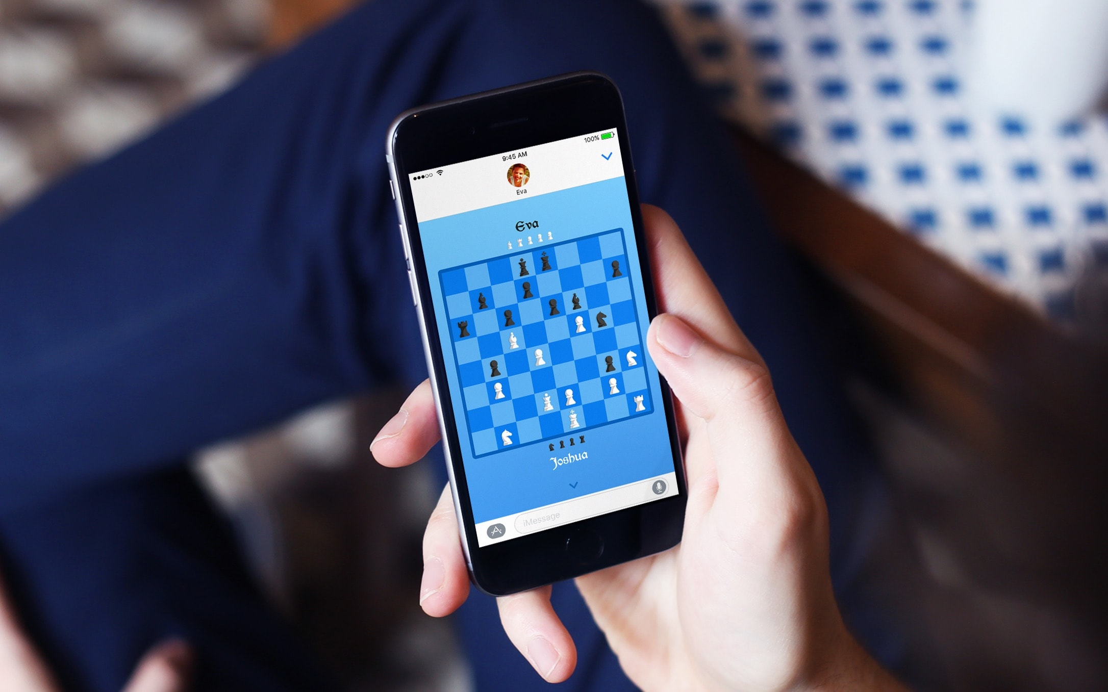 Jogo Xeque-mate! para iOS