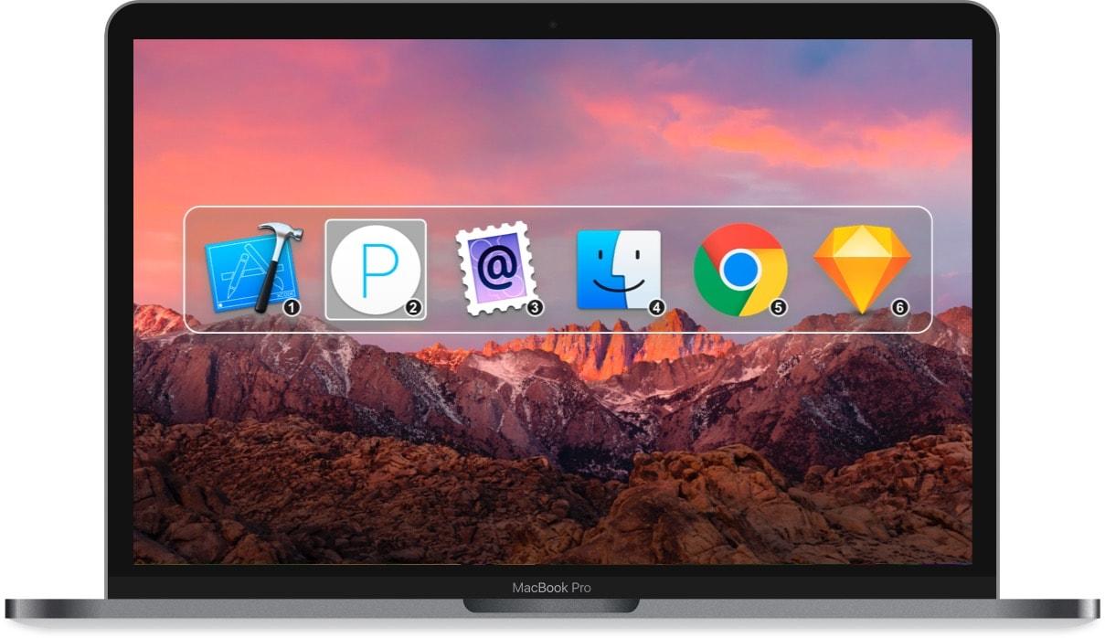 App Command-Tab Plus para macOS