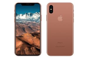 """Mockup"" do ""iPhone 8"" - Blush Gold"
