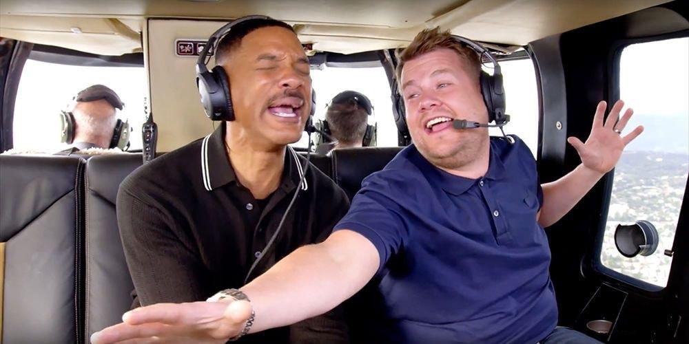 """Will Smith e James Corden - """"Carpool Karaoke"""""""