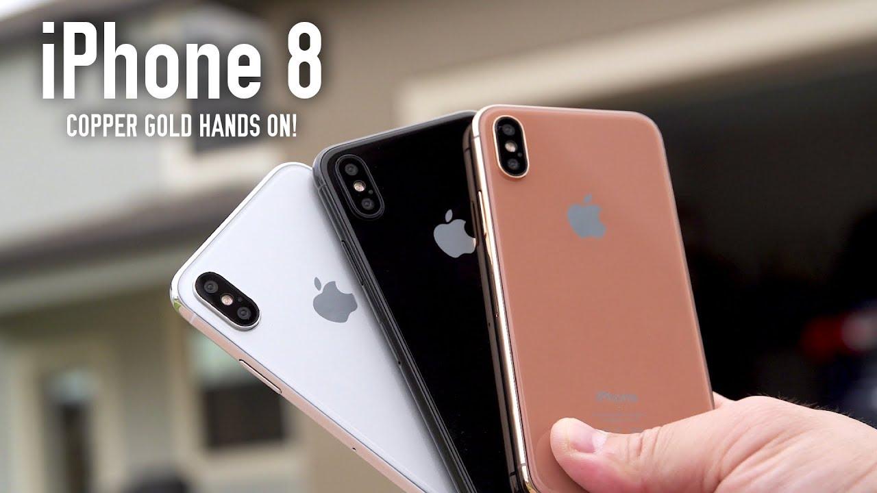 """Dummies"" do ""iPhone 8"""