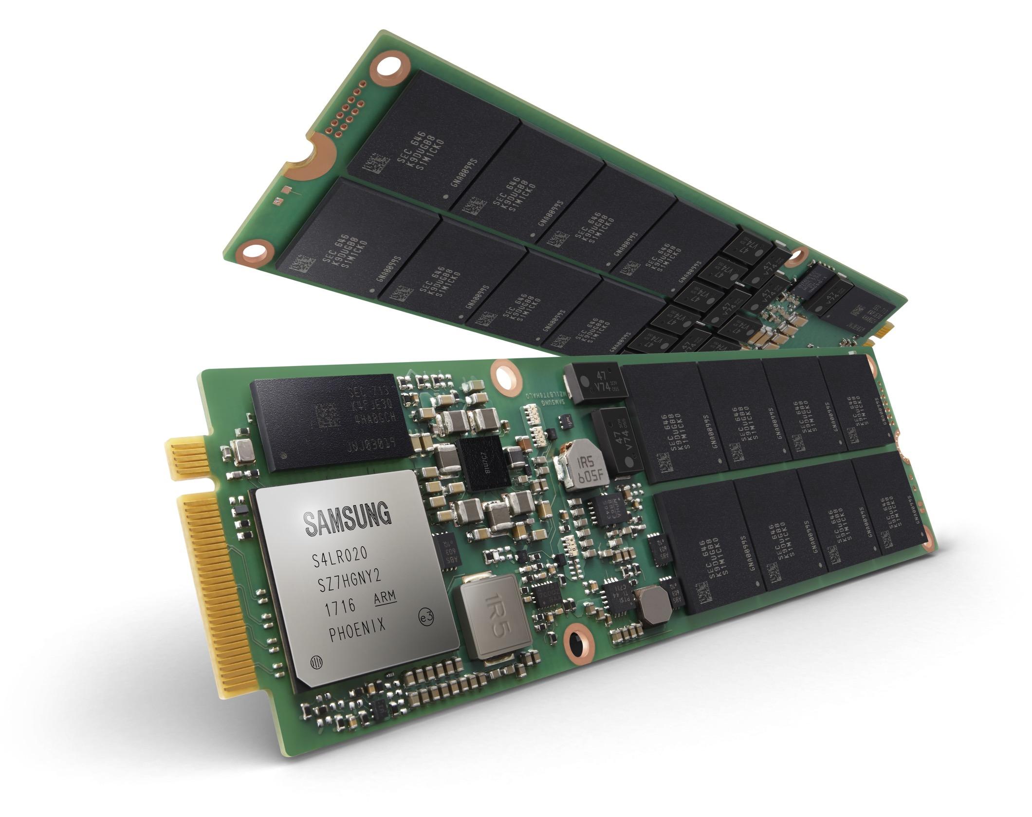 V-NAND de 1TB da Samsung