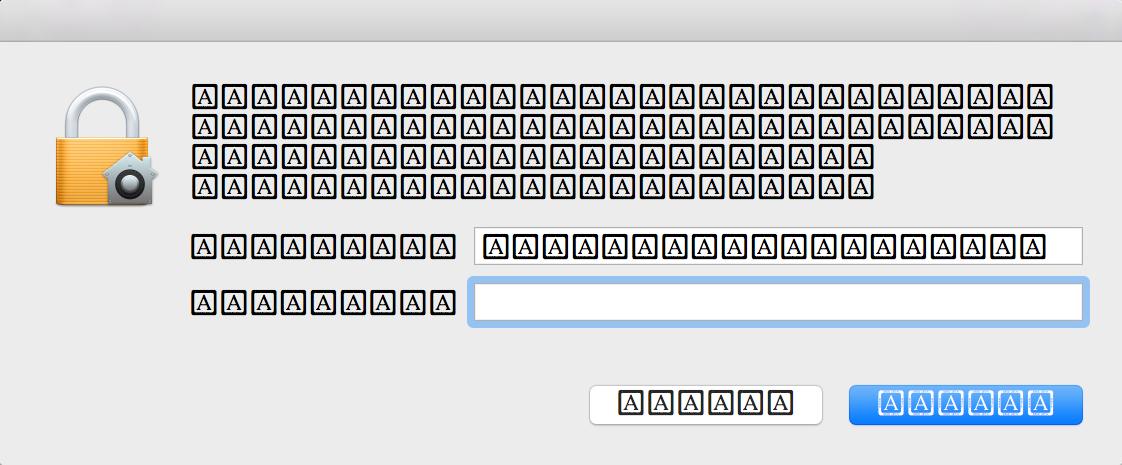 Erro de Fonte no macOS