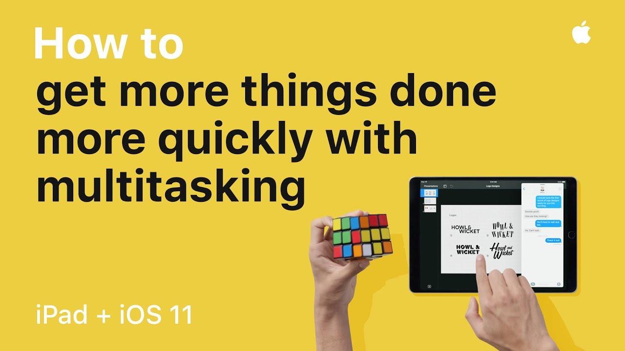 Comercial do iPad Pro + iOS 11