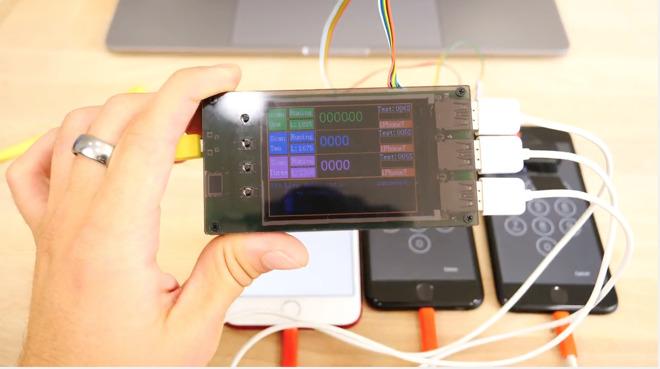 Dispositivo utilizado para decifrar a senha de iPhones 7 e 7 Plus