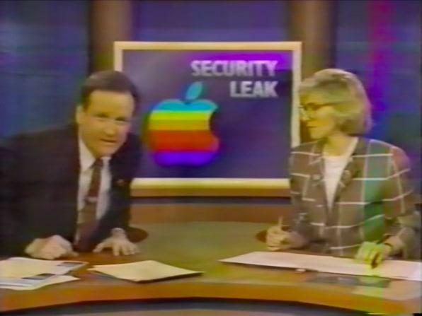 Vazamento do Macintosh Portable em 1988