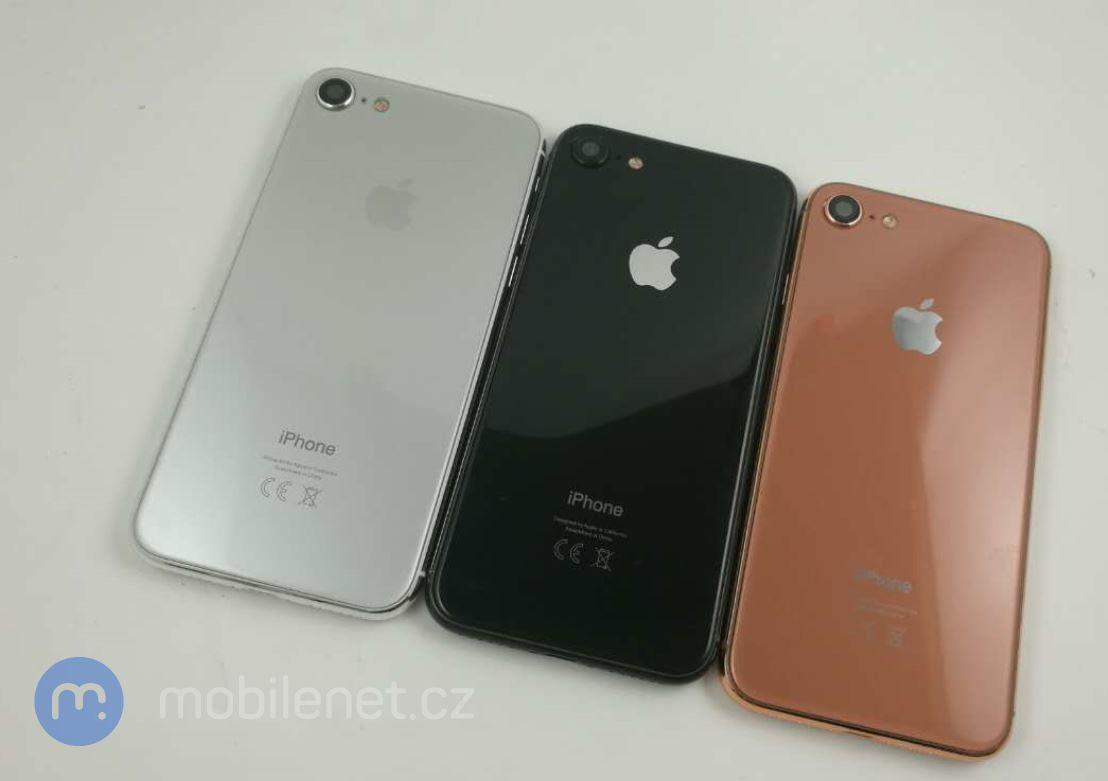 """Três cores do """"iPhone 7s"""""""