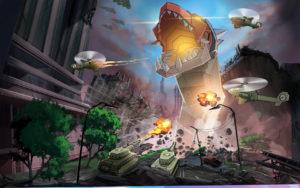 Jogo Colossatron: Ameaça Mundial Maciça para iOS