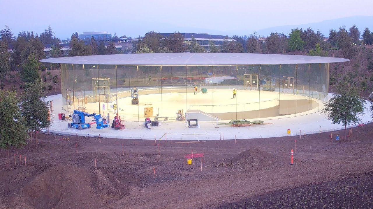 Vídeo de agosto do Apple Park