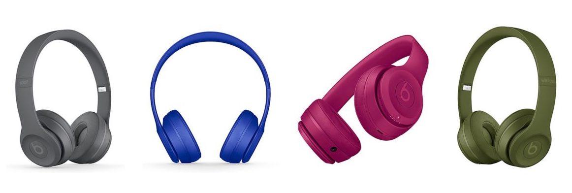 Novas cores do Beats Solo3 Wireless