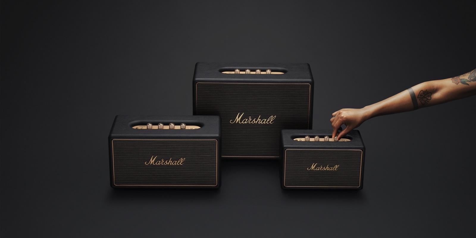 Novas caixas de som da Marshall