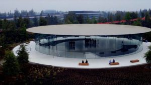 Steve Jobs Theater pronto