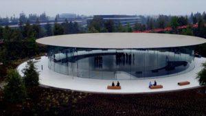 Steve Jobs Theater pronto