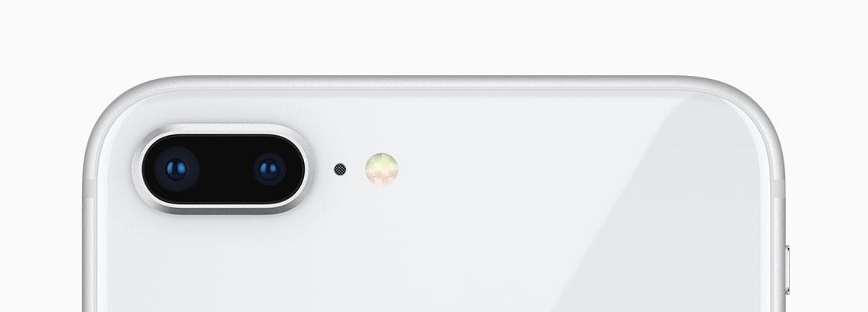 Câmera do iPhone 8 Plus