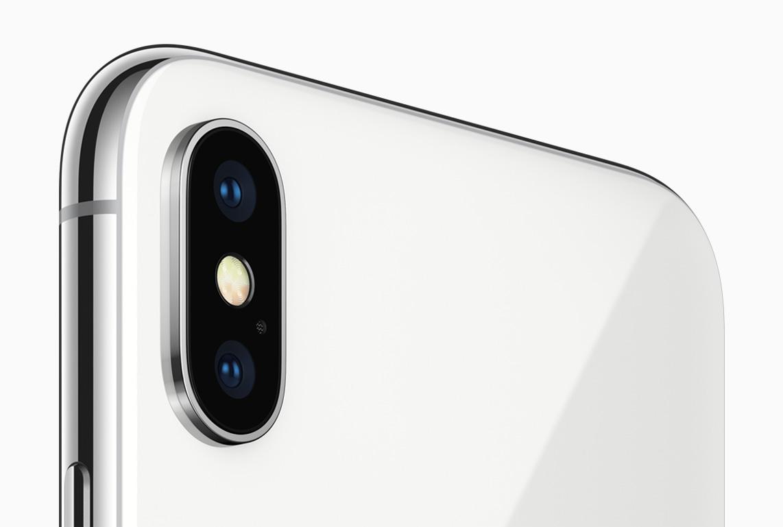 Câmeras traseiras do iPhone X