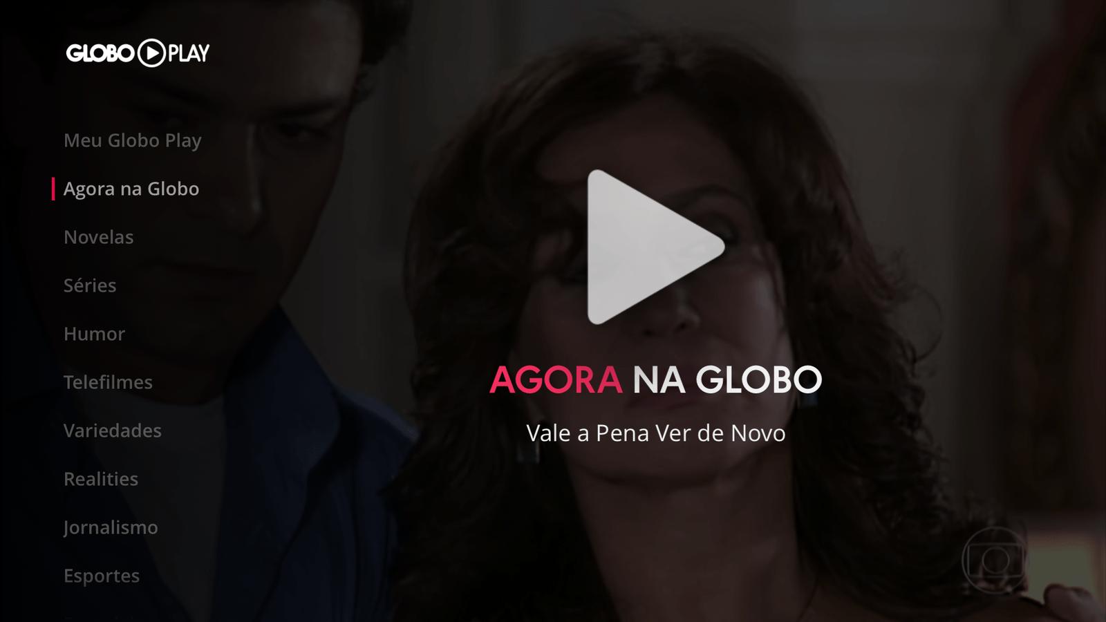 Globo Play Apple tv