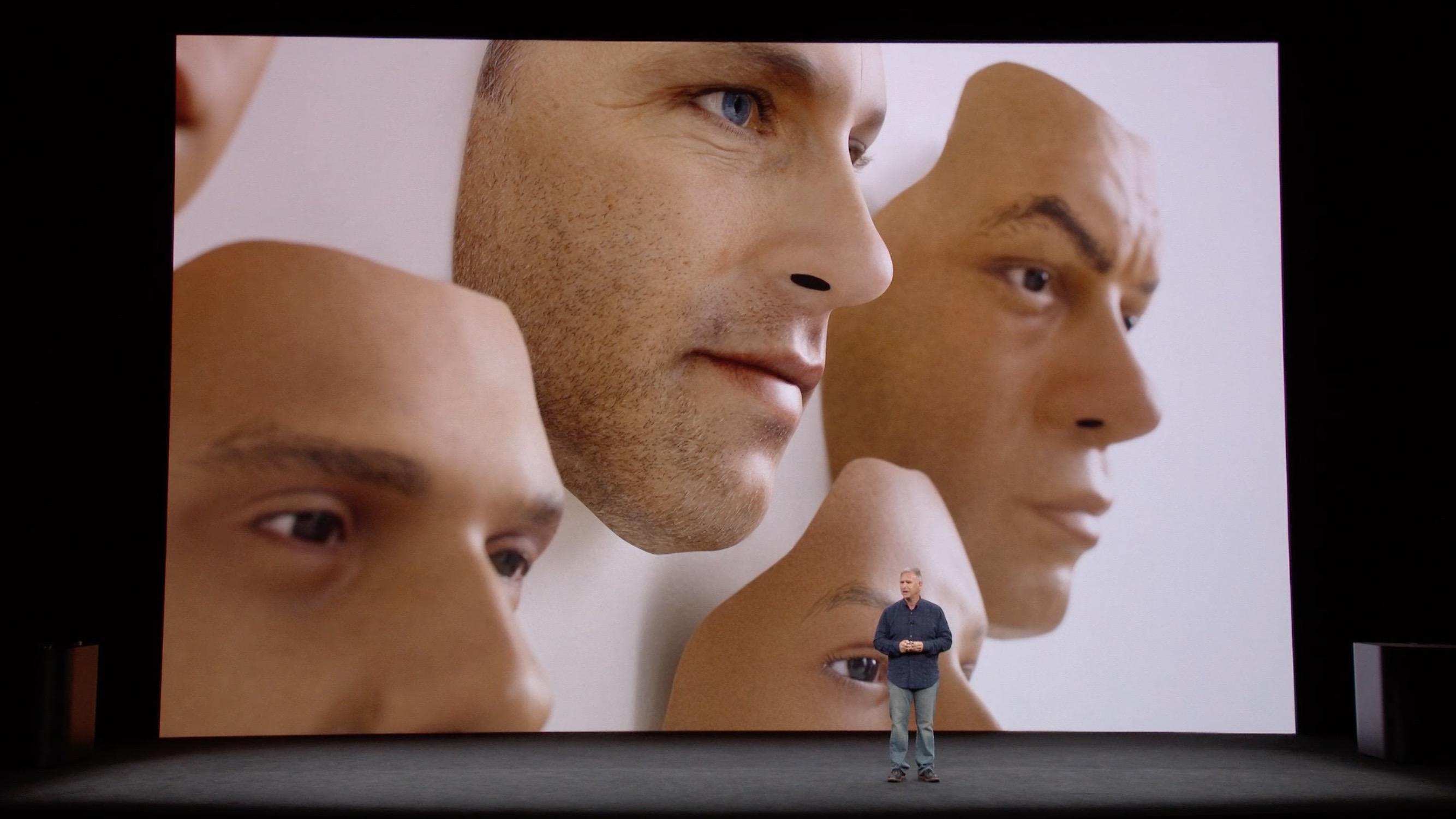 Face ID distingue máscaras de pessoas reais