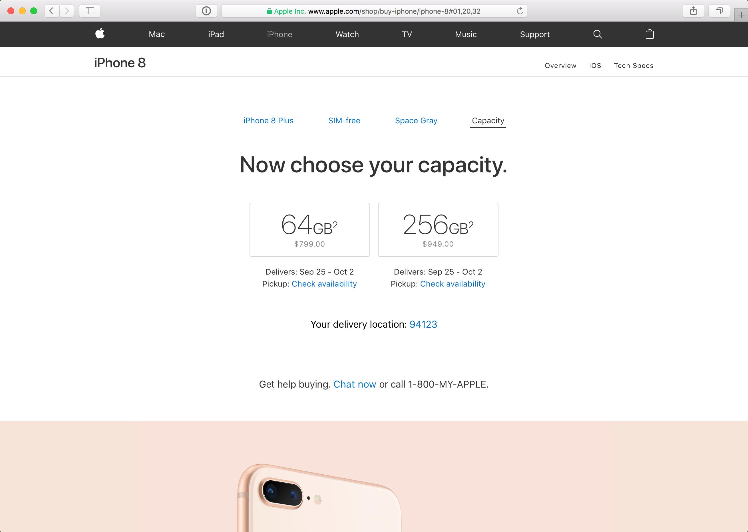 Pré-venda do iPhone 8