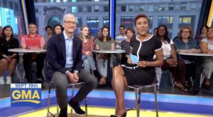 Tim Cook Good Morning America