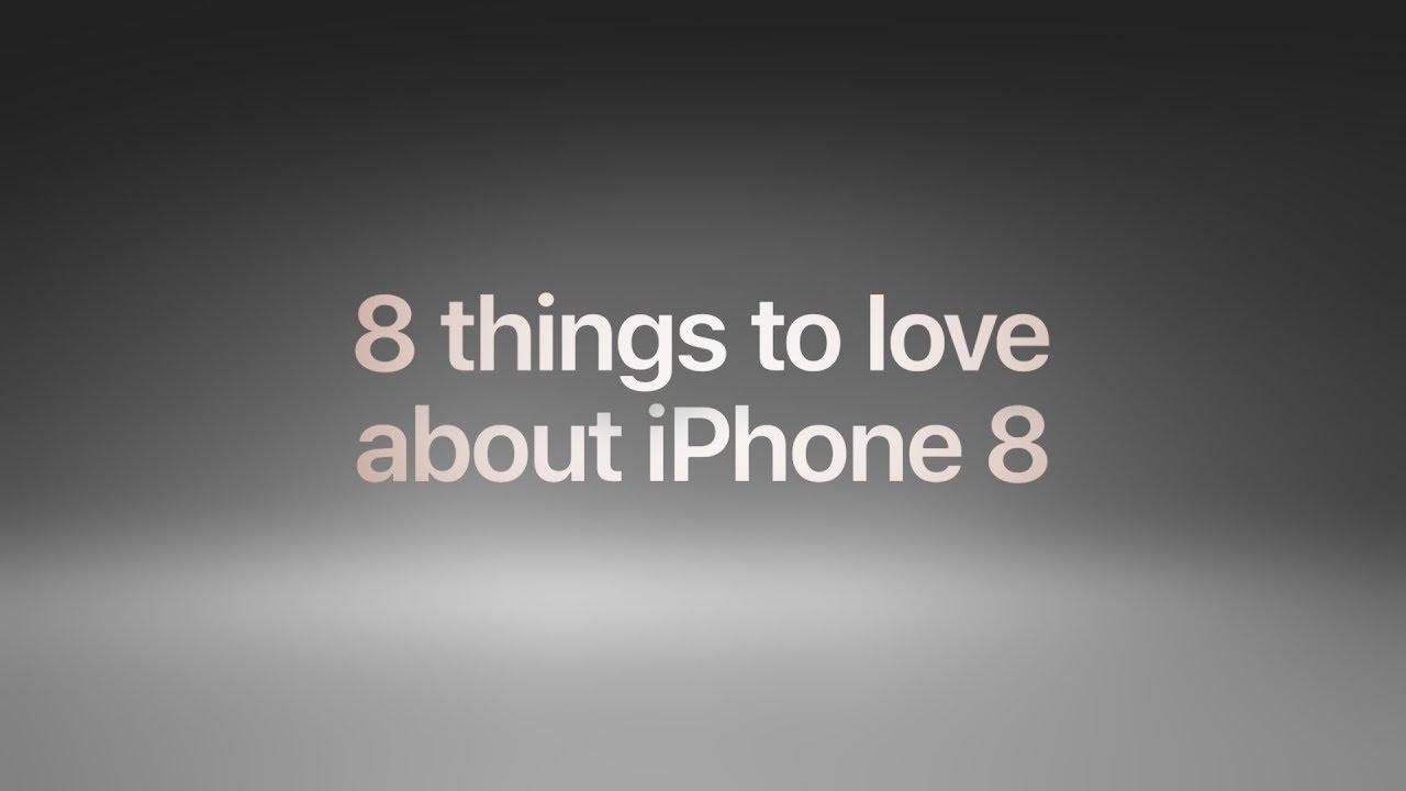 Apple publica vídeo com oito coisas para se amar no iPhone 8 e também tutoriais do Apple Pay – MacMagazine.com.br
