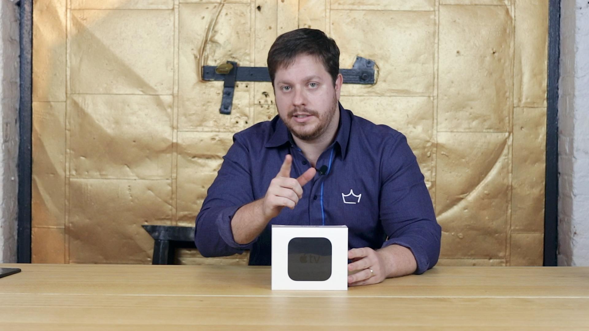 Unboxing da Apple TV 4K